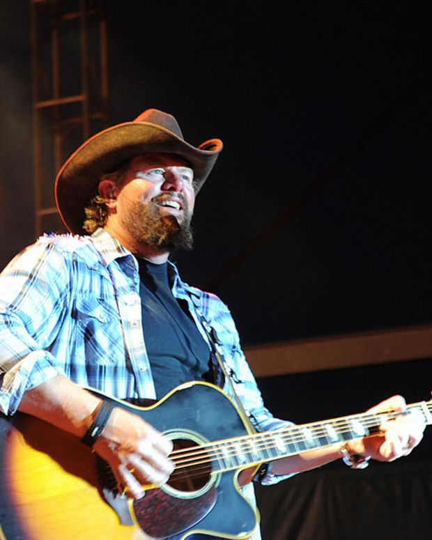 Toby Keith Responds To Critics Over Trump Concert Promo Image
