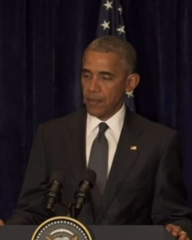 Obama: Dallas Shootings A 'Despicable Attack' (Video) Promo Image