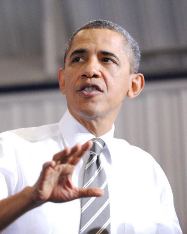 Trump: 'Something Going On' With Obama's Body Language Promo Image