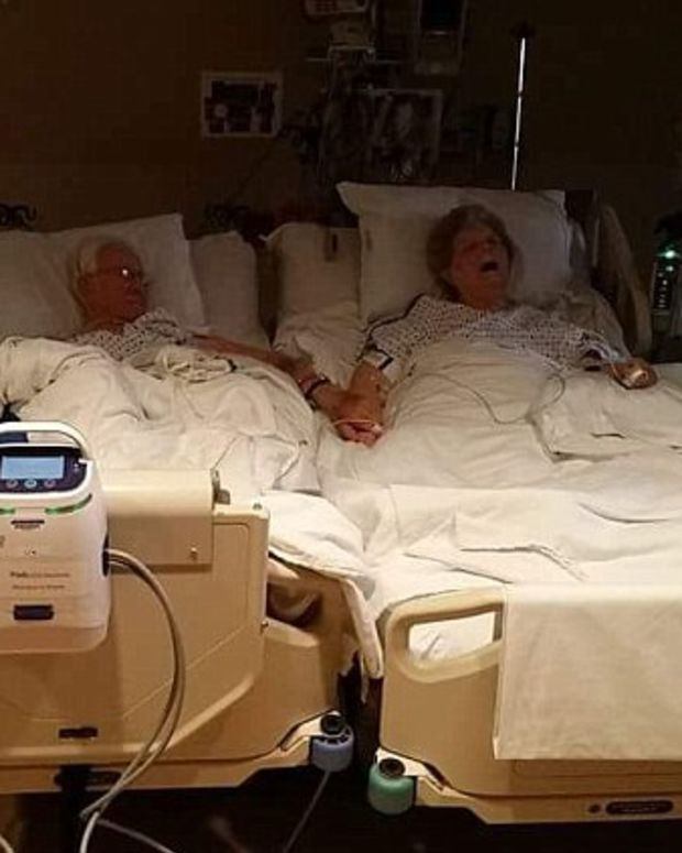 Couple Dies Holding Hands After 63 Years Of Marriage Promo Image