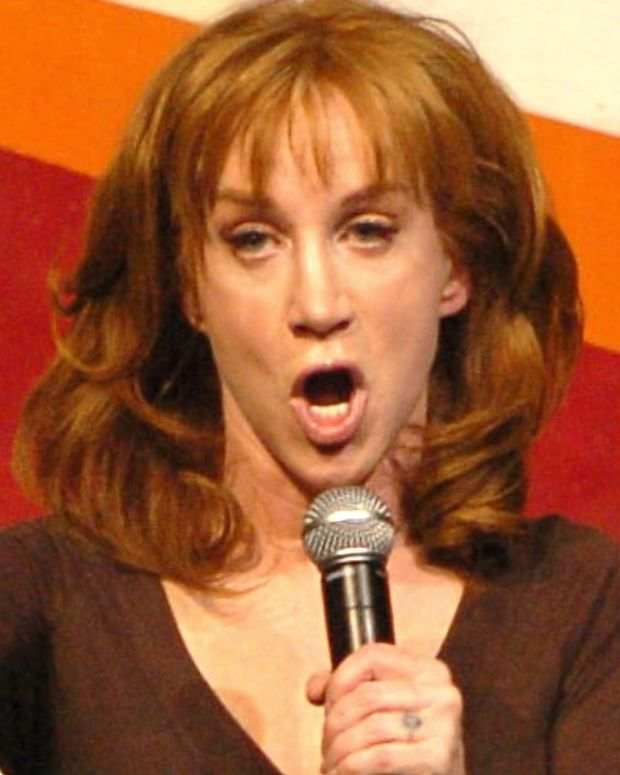 Kathy Griffin Apologizes For Trump Tweet, CNN Concerned (Video) Promo Image