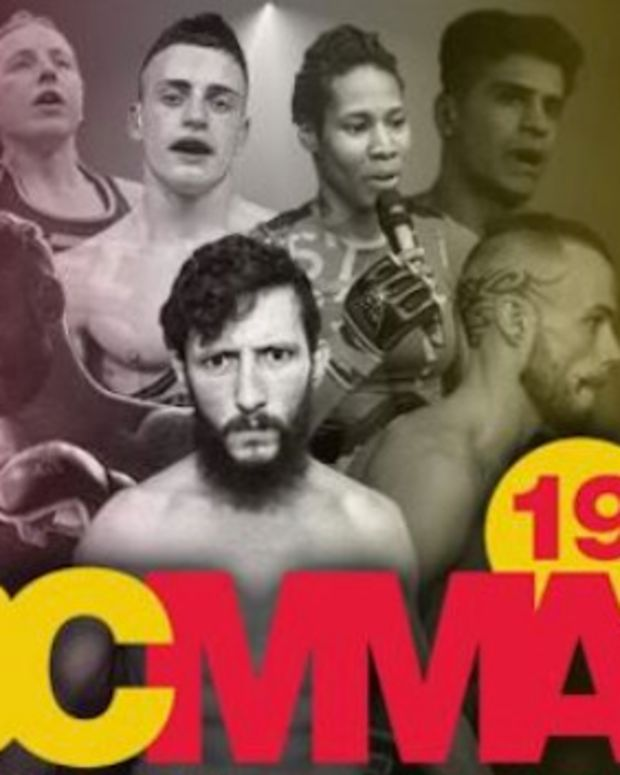 MMA Fighter Taunts Opponent, Gets Knocked Out (Video) Promo Image