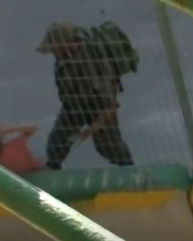 Israeli Police Toss Palestinian Girl's Bike (Video) Promo Image