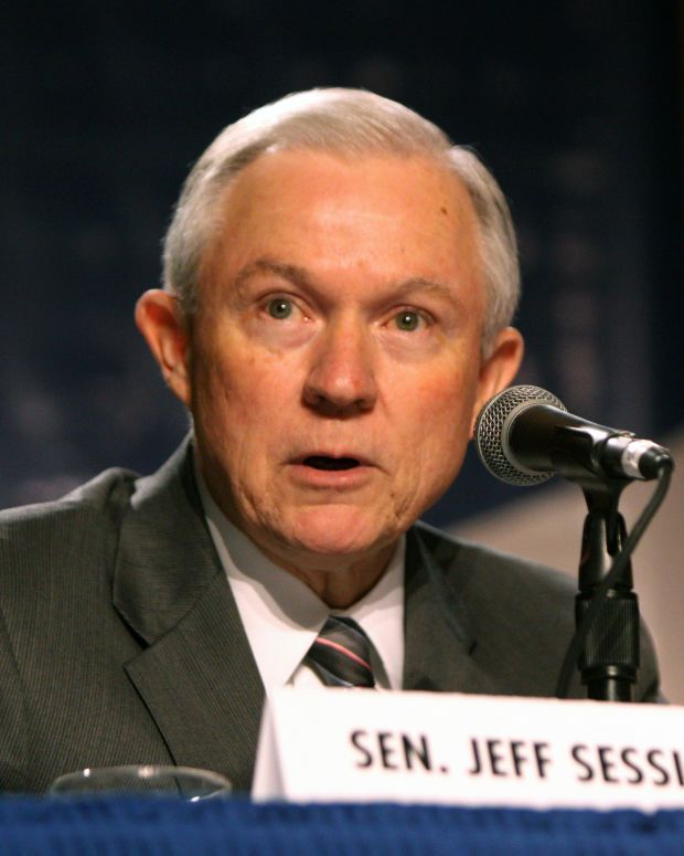 Sen. Jeff Sessions Vehemently Denies Racism Allegations Promo Image