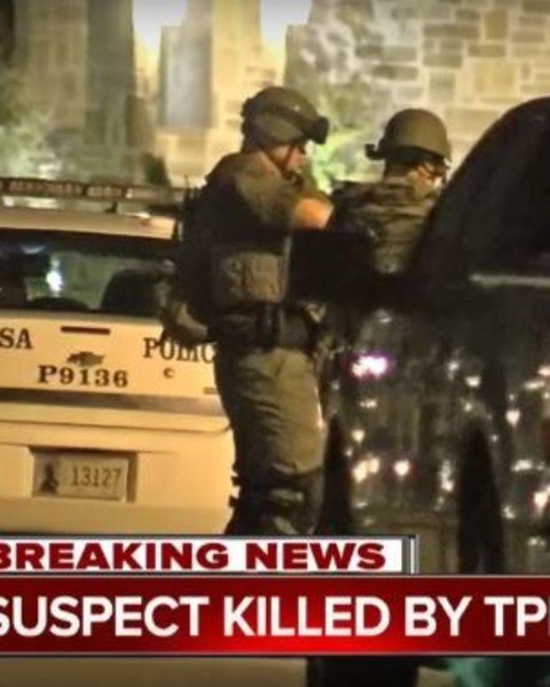 Tulsa Police Sniper Kills Man Who Took Toddler Hostage Promo Image