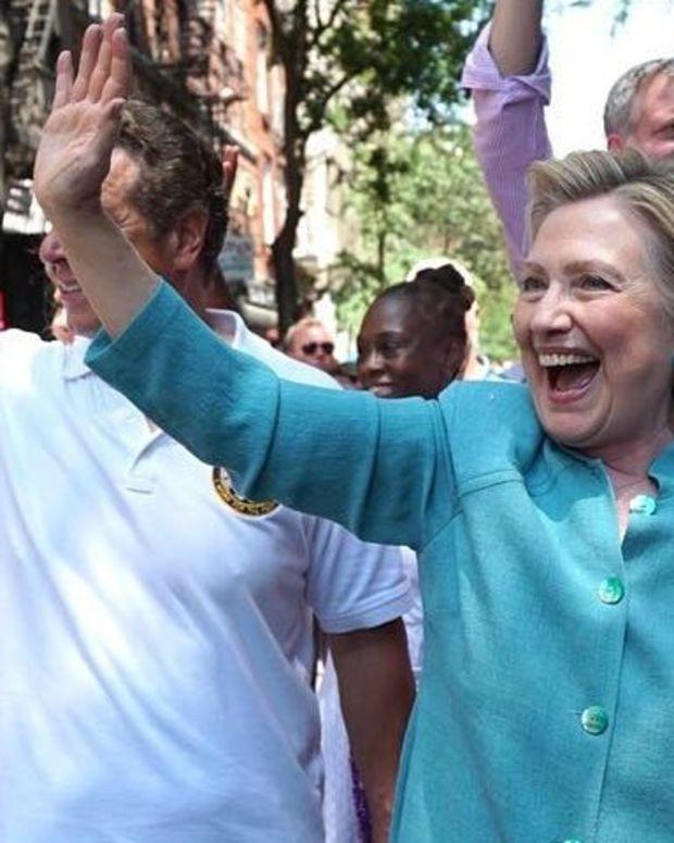 Hillary Clinton Considers Run For New York City Mayor Promo Image