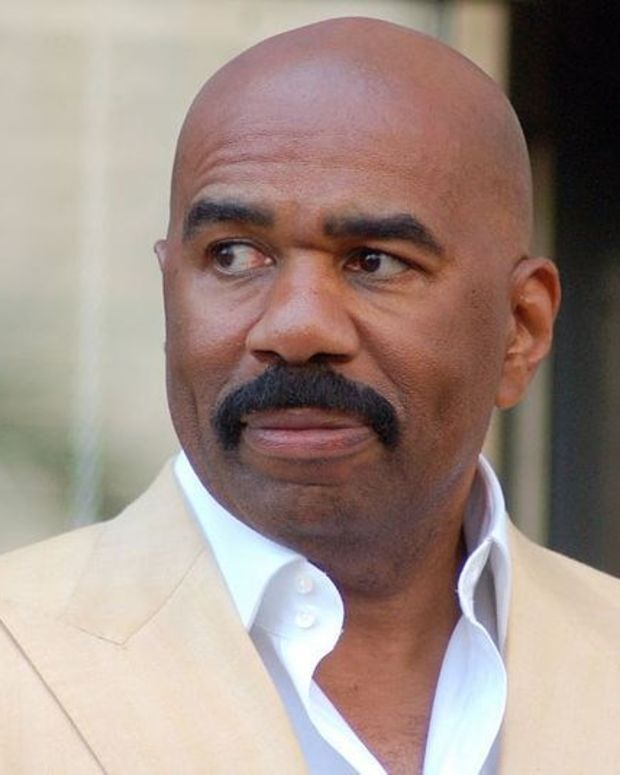 Steve Harvey Says Trump Is Keeping Promise To Him  Promo Image