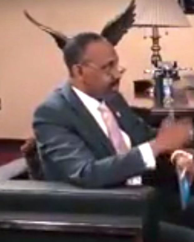 Protesters Interrupt Rich Pastor's Church Service (Video) Promo Image