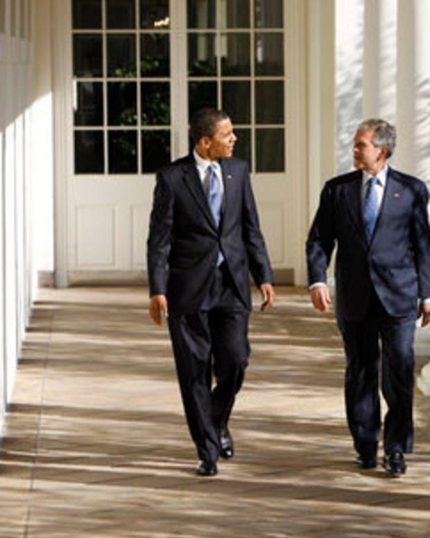 Poll: Bush And Obama Becoming More Popular Promo Image