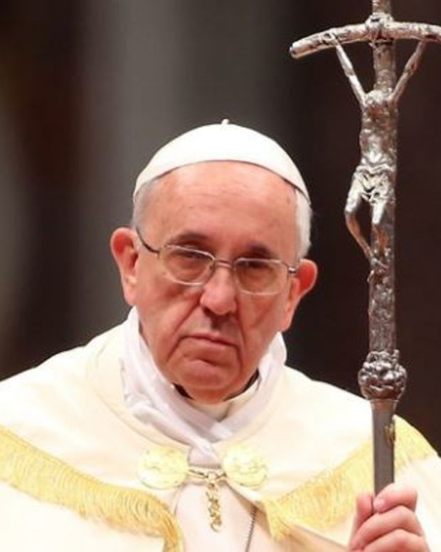 Pope Francis: Women Will Never Be Priests Promo Image