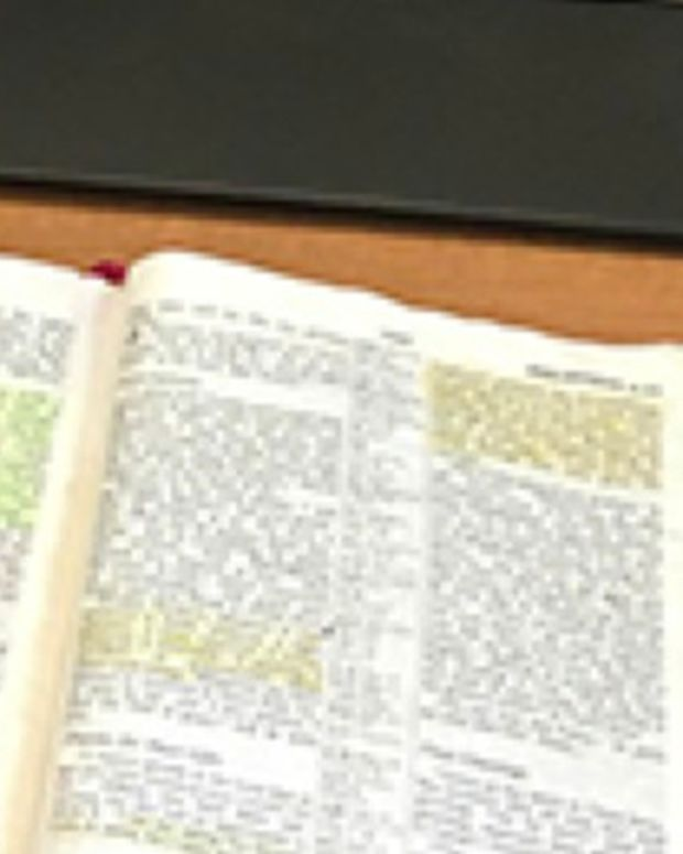 Air Force Major's Open Bible Is Under Investigation Promo Image