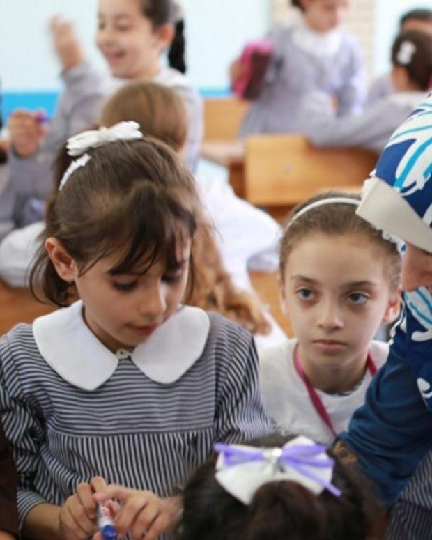 U.N.-Run Schools In Palestine Demonize And Deny Israel Promo Image