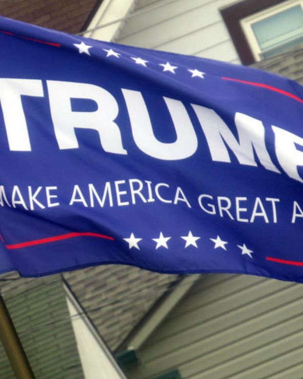 Report: Shots Fired At 'Make America Great Again' Truck (Photo) Promo Image