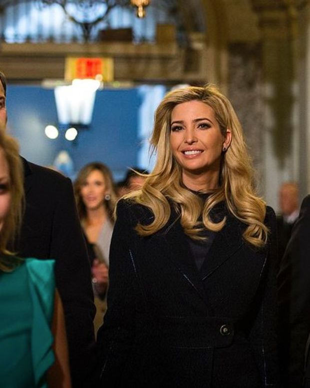 Ivanka Trump Fashion Line Workers Make $62 Per Week Promo Image
