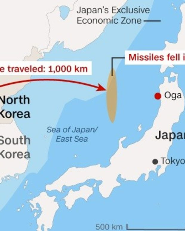 The US Must React Strongly To North Korea's Missile Test Promo Image