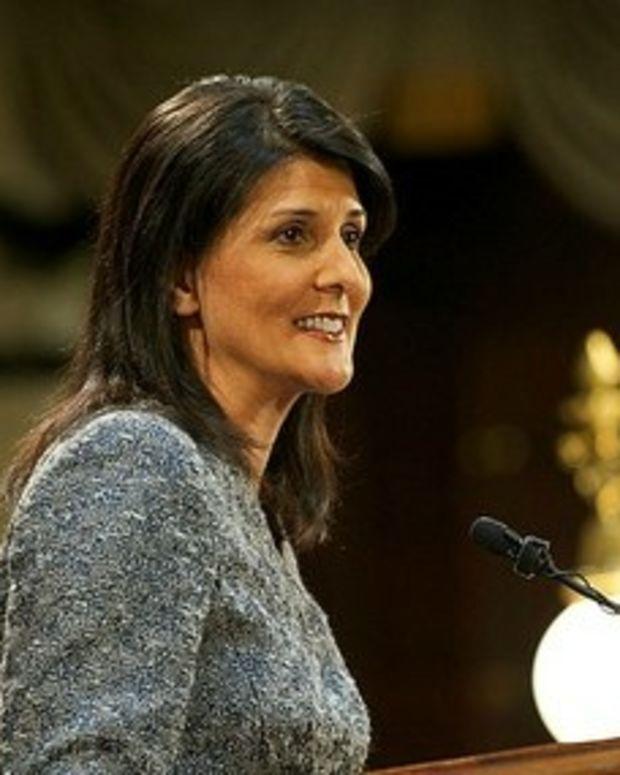 Trump Names Gov. Nikki Haley To UN Ambassador  Promo Image