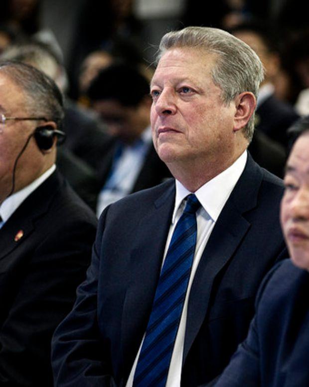 Al Gore Voices Support For Dakota Pipeline Protest Promo Image