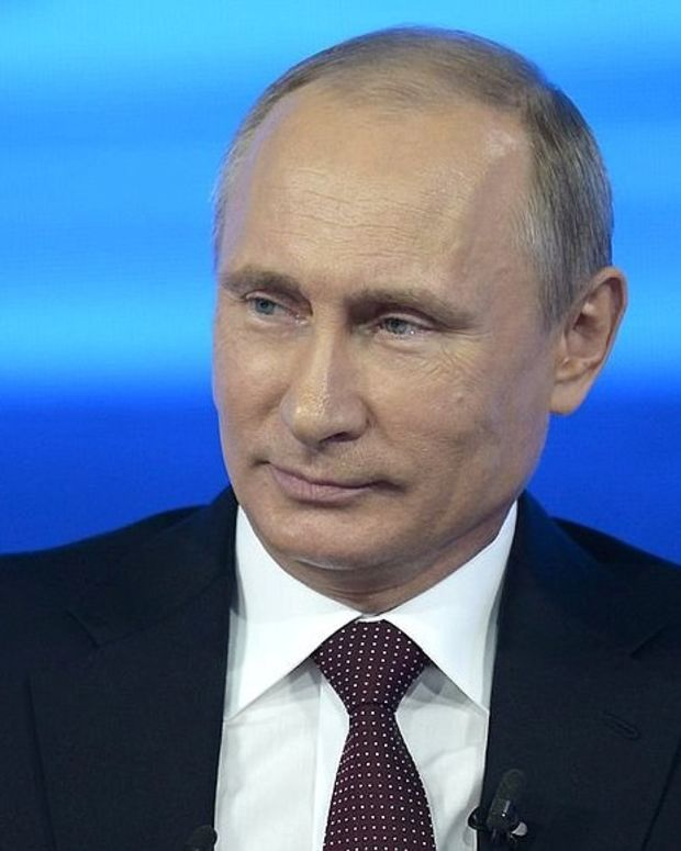 Vladimir Putin Says Russia Did Not Interfere With U.S. Election Promo Image