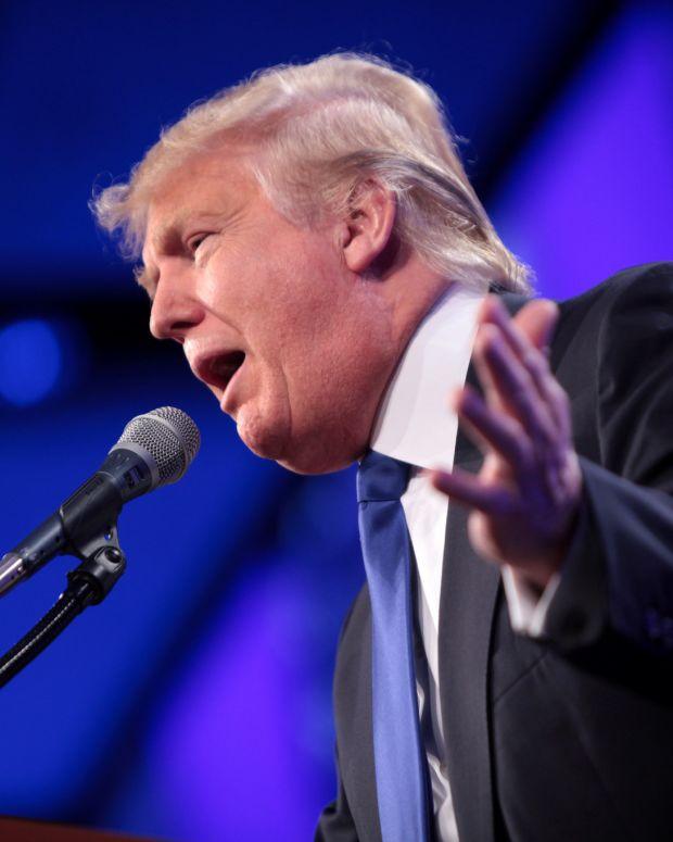 Trump: Democrats Will Never Vote For Health Care Bill Promo Image