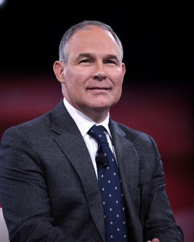 Trump Chooses Climate Skeptic To Head EPA Promo Image