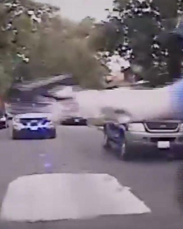 Chaos As Chicago Cops Shoot Car Thief Suspect (Video) Promo Image
