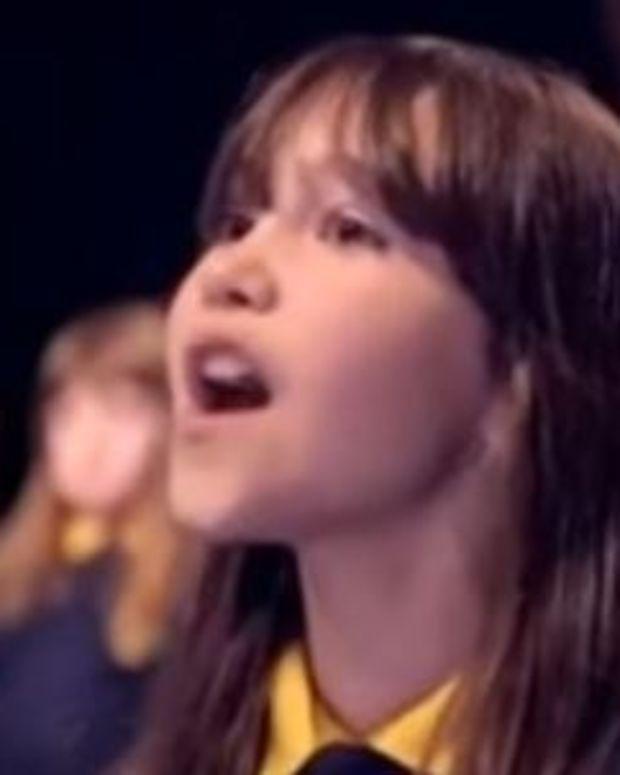 Autistic Girl Singing 'Hallelujah' Goes Viral (Video) Promo Image