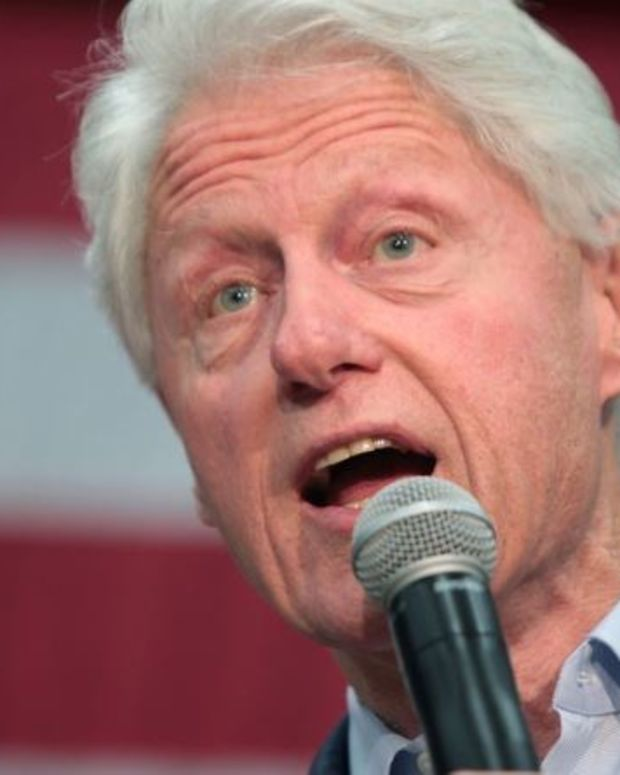 Bill Clinton Defends Clinton Foundation's Work Promo Image