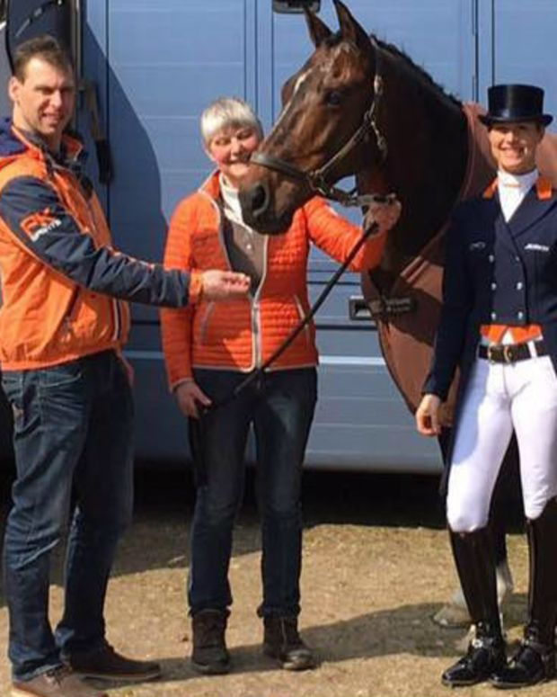 Gold Medal Athlete Quits Olympics To Save Her Horse Promo Image