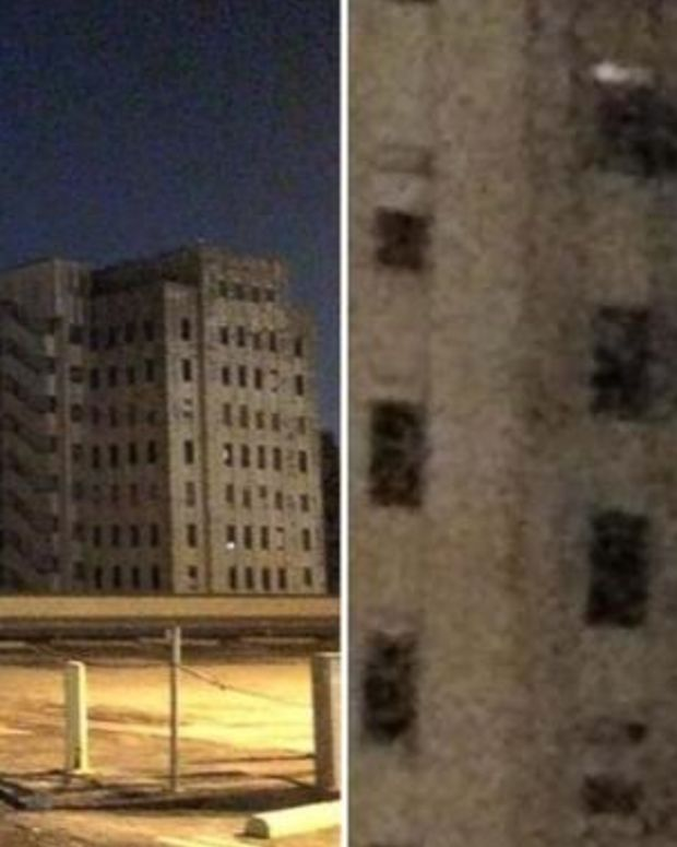 Mystery Of 'Ghost' Light In Window Of Abandoned Hospital Finally Solved (Photos) Promo Image