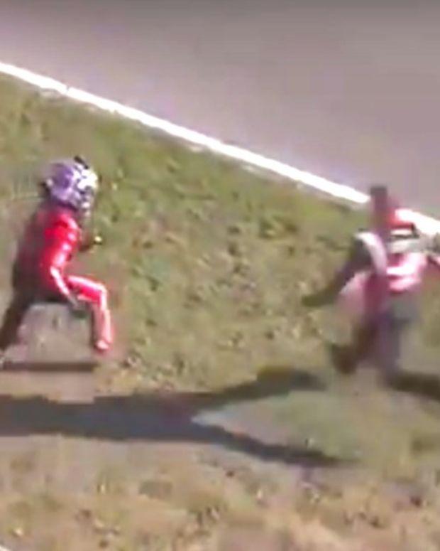 NASCAR Truck Series Driver Attacks Winner (Video) Promo Image