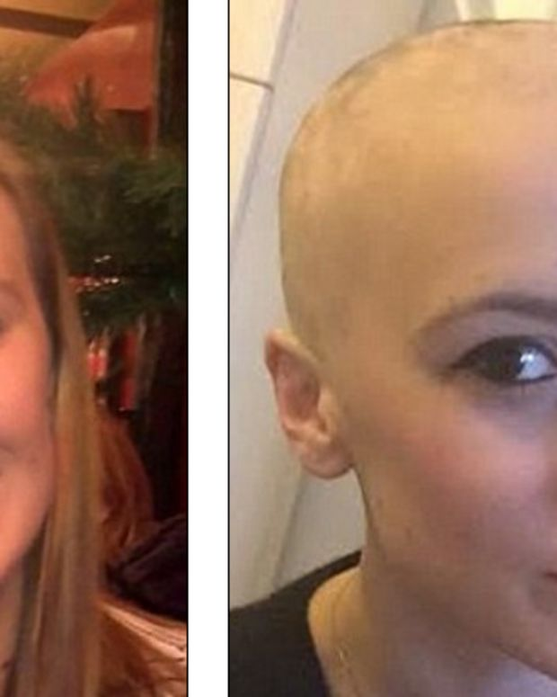 Teacher Shaves Head To Support Student Promo Image
