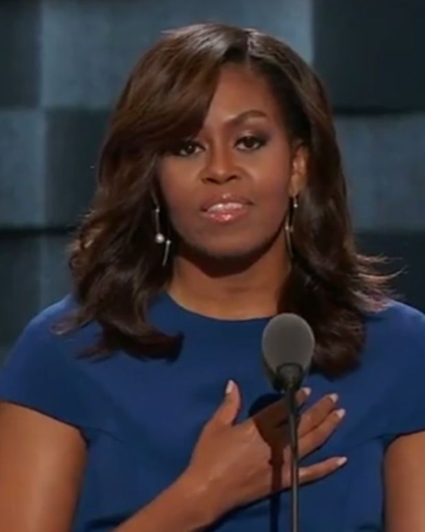 Michelle Obama: America Already Is The Greatest Country Promo Image