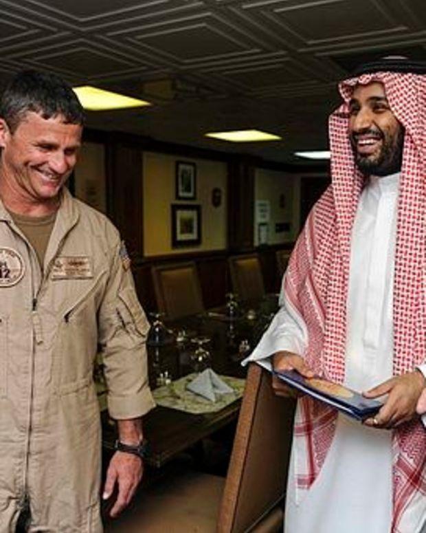 Saudi Arabian Prince Praises Trump After Meeting Promo Image