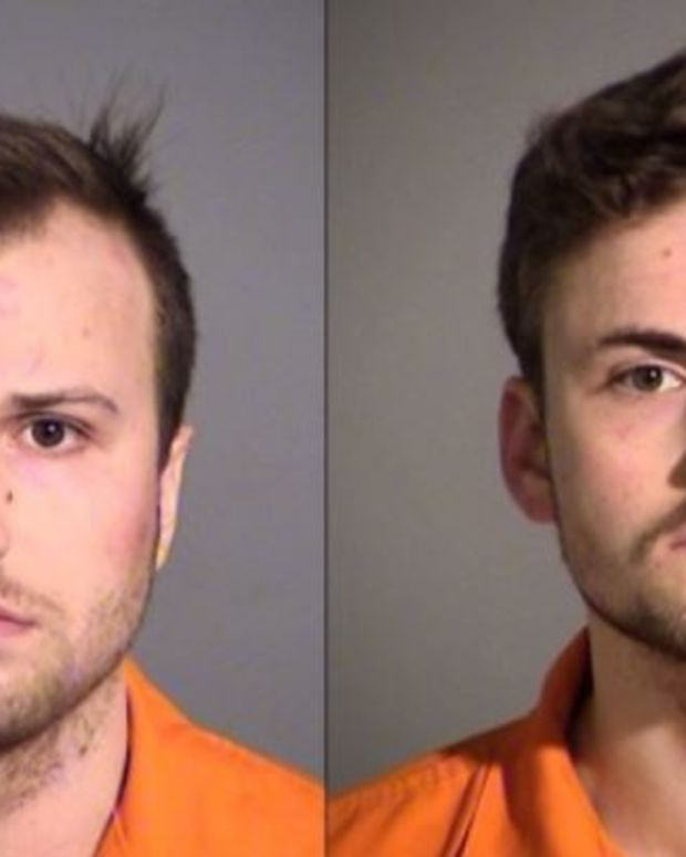 Brothers Arrested After Bizarre Naked Rampage (Photo) Promo Image