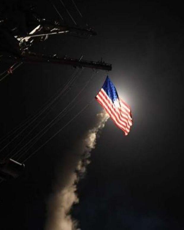 World Leaders Applaud Trump's Airstrike In Syria Promo Image