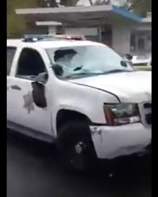 Park Ranger Crashes Patrol Car, Flees The Scene (Video) Promo Image