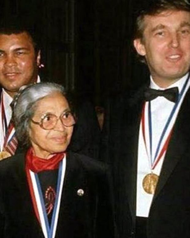Did Trump Win A Medal From The NAACP? Promo Image