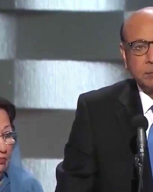 Dad Of Dead Muslim U.S. Soldier Slams Trump (Video) Promo Image