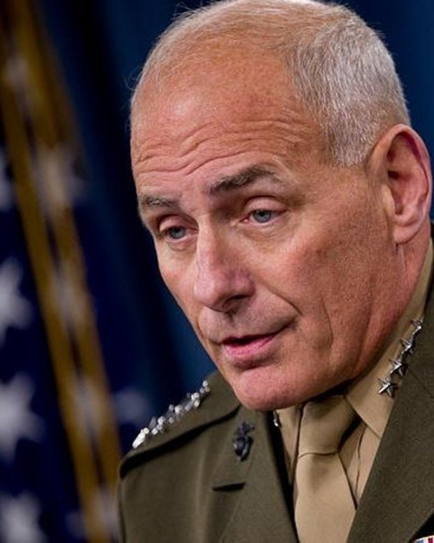Trump Considering Retired General For Homeland Security Promo Image