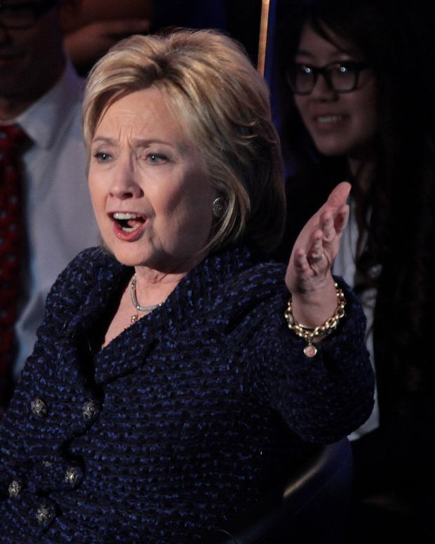 Some Think Clinton Took Credit For Democrat Wins Promo Image