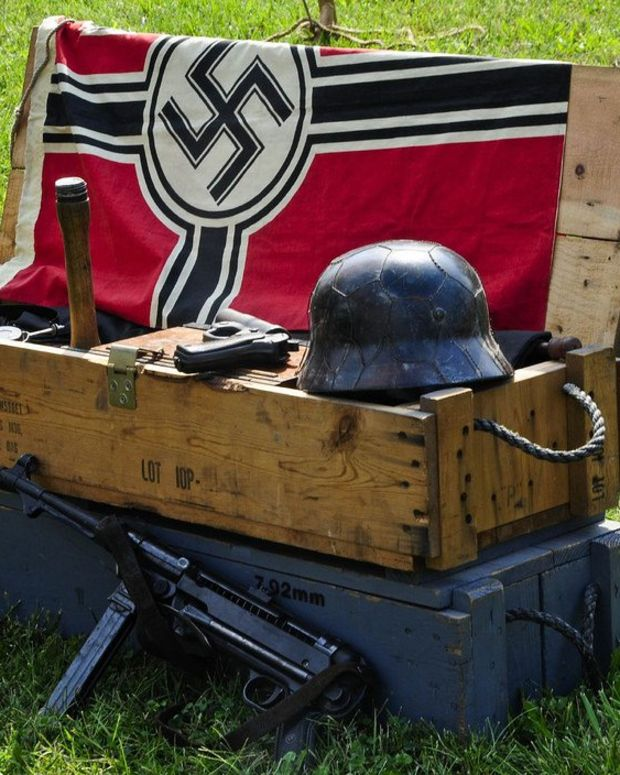 Woman Confronts Neighbor Flying Nazi Flag (Video) Promo Image