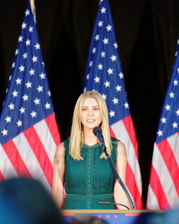 GOP Leaders 'Annoyed' By Ivanka Trump During Meeting Promo Image