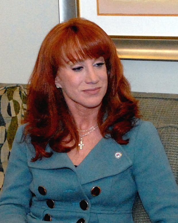 Kathy Griffin Shaves Head For Cancer (Photos) Promo Image