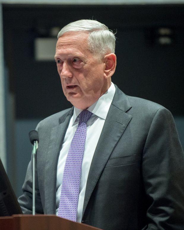 Mattis: Diplomacy Is Key To Solving North Korea Crisis Promo Image