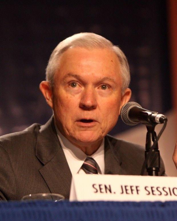 Trump Slams Attorney General Jeff Sessions Again Promo Image