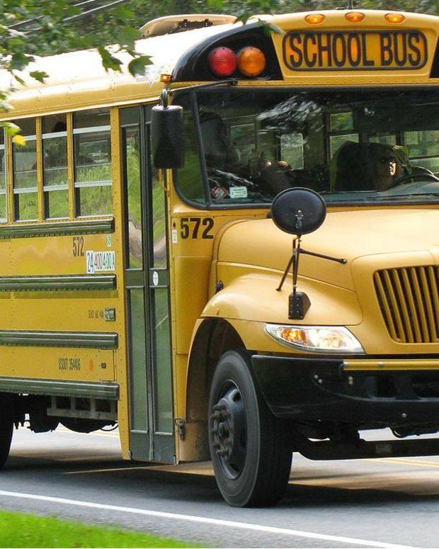 Horrific School Bus Crash Kills 5-Year-Old Girl Promo Image