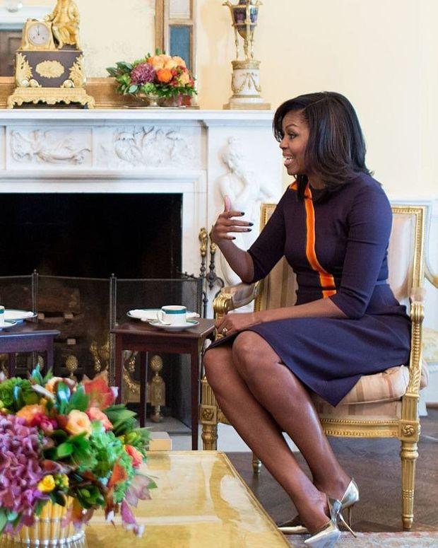 Melania Trump Maintaining Michelle Obama's Legacy Promo Image