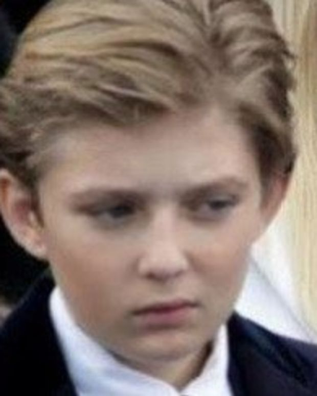 Barron Trump Gets Hit With Another Low Blow (Photos) Promo Image