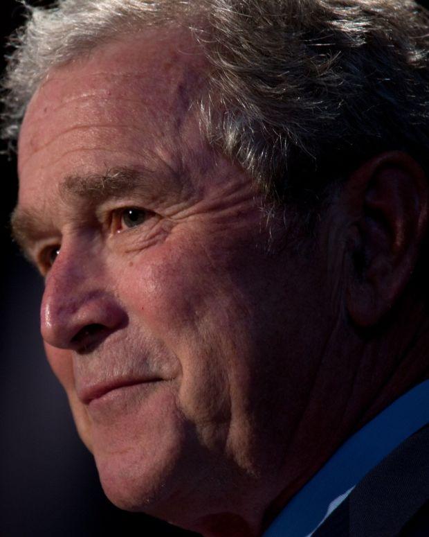 George W. Bush: Bigotry Has Been 'Emboldened' (Video) Promo Image