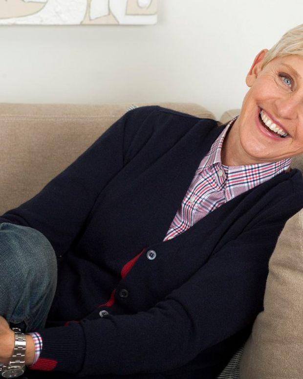 Ellen DeGeneres Reveals Her Father Passed Away Promo Image